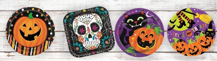 Halloween Themed Party Supplies & Packs | Party Save Smile