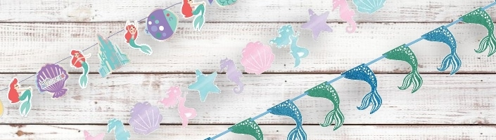 Mermaid Party Banners