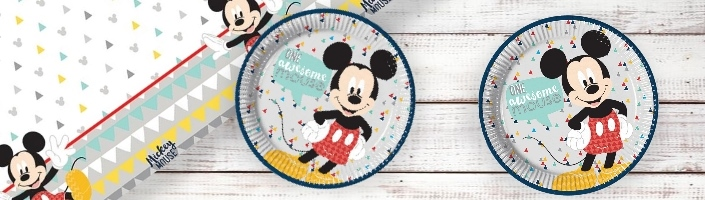 Mickey Mouse Awesome Party Supplies | Balloons | Decorations | Packs
