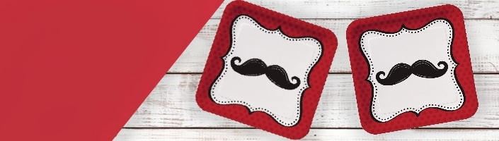Moustache Party Supplies | Balloon | Decoration | Pack