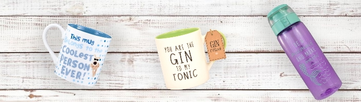 Mugs | Cups, Glassware and Bottles - Party Save Smile