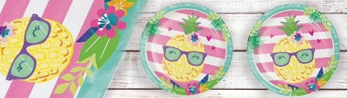 Pineapple and Friends Party Supplies | Balloon | Decoration | Pack