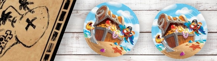 Pirate Treasure Party Supplies | Balloons | Decorations | Packs