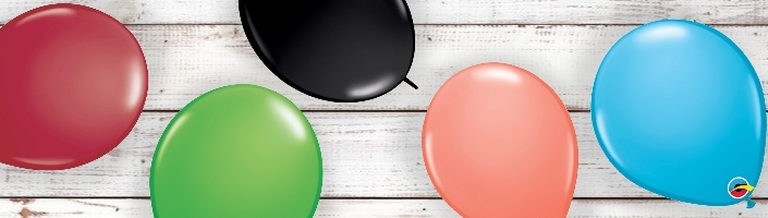 Plain Coloured Latex Party Balloons | Party Save Smile