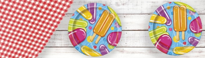 Popsicle and Ice Cream Party Supplies | Balloon | Decoration | Pack