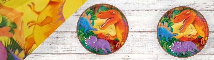 Prehistoric Dinosaur Party Supplies | Balloons | Packs | Decor