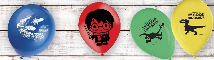 Childrens Character Latex Balloons | Party Save Smile