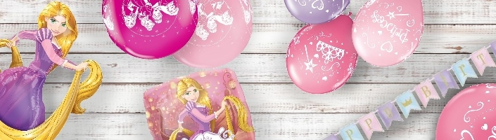Rapunzel Party Supplies Balloons Decorations Packs