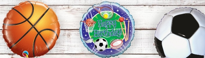 Sport Themed Balloons