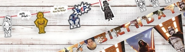 Star Wars Party Banners