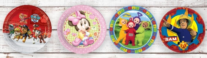 Toddler Licensed Character Party Supplies | Packs | Ideas
