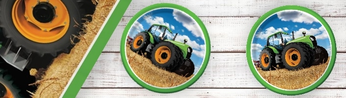 Tractor Time Party Supplies | Decorations | Balloons