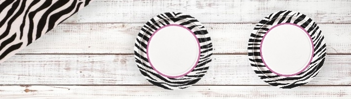Zebra Passion Party Supplies | Balloons | Decorations | Packs