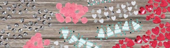 Engagement Table Confetti | Party Save Smile