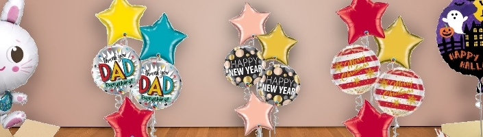 Seasonal Balloon in a Box | Party Save Smile