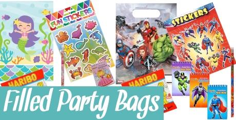 Filled Party Bag Kits
