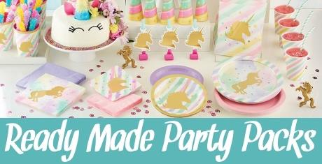 Ready to Order Party Kits