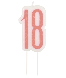 18th Birthday Cake Candles