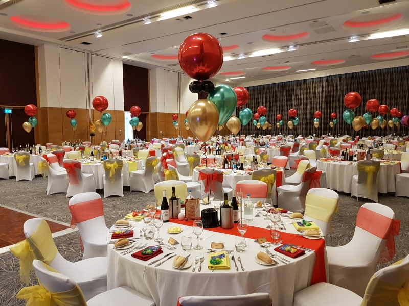 Corporate Event Balloons and Decorations