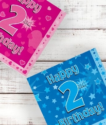 2nd Birthday | Age 2 Party Supplies | Decorations | Ideas