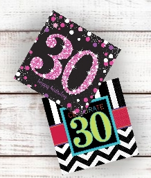 30th Birthday Party Supplies and Ideas