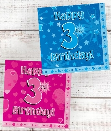 3rd Birthday | Age 3 Party Supplies | Decorations | Ideas