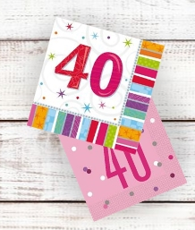 Age 40 | 40th Birthday Party Supplies | Decorations | Ideas - Party Save Smile