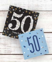 Age 50 | 50th Birthday Party Supplies | Decorations | Ideas - Party Save Smile