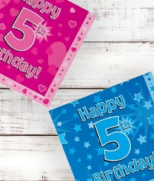 5th Birthday | Age 5 Party Supplies | Decorations | Ideas