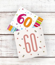 Age 60 | 60th Birthday Party Supplies | Decorations | Ideas - Party Save Smile