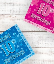 Age 10 | 10th Birthday Party Supplies | Decorations | Ideas