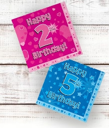 Age 2-10 Birthday Party Supplies | Decorations | Ideas