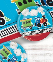 Train Party Supplies | Balloons | Decorations | Packs