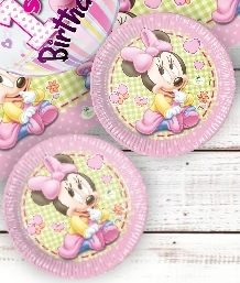 Baby Minnie Mouse Party Supplies | Balloons | Decorations