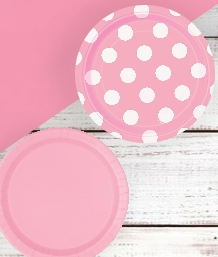 Baby Pink Party Supplies & Packs | Party Save Smile