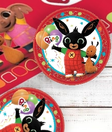 Bing the Bunny Rabbit Party Supplies | Balloons | Decorations | Packs