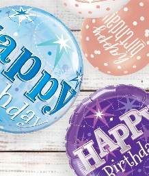 Birthday Message Balloons | Party Save Smile