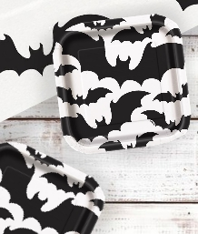 Black Bat Halloween Party Supplies & Packs | Party Save Smile
