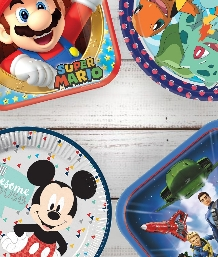 Boys Licensed Character Party Supplies | Packs | Ideas