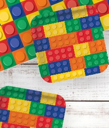 Building Block Party Supplies, Decorations & Balloons
