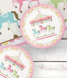 Carousel Party Supplies | Balloons | Decorations | Packs