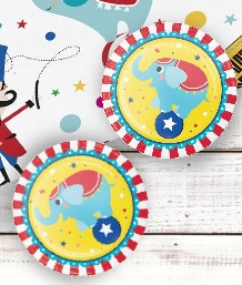 Circus Time 1st Birthday Party Supplies | Balloons | Decorations | Packs