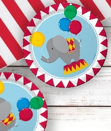 Circus Time Party Supplies | Balloons | Decorations | Packs
