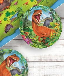 Dinosaur Jungle Party Supplies | Balloons | Decorations | Packs