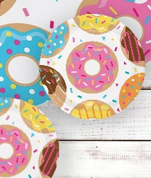 Doughnut Time Party Supplies | Balloons | Decorations | Packs