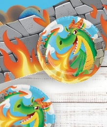 Dragons Party Supplies | Decorations | Balloons | Packs