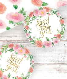 Floral Girl Baby Shower Supplies | Balloons | Decorations | Packs