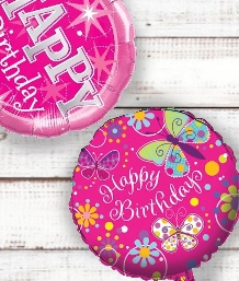 Girls Birthday Balloons | Party Save Smile