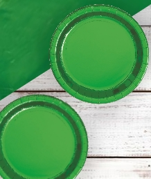 Green Foil Party Supplies & Packs | Party Save Smile