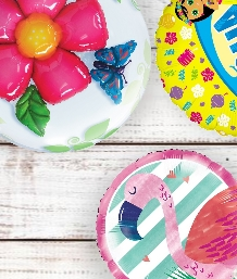 Hawaiian Summer Cake Candles